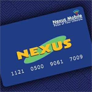 Activate Nexus Card