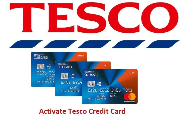 Activation-of-Tesco-Credit-card